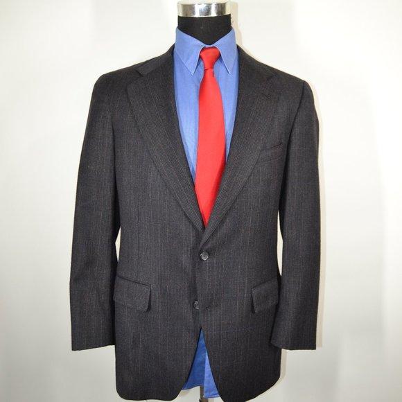 Jos. A. Bank Other - Jos A Bank 40R Sport Coat Blazer Suit Jacket Dark